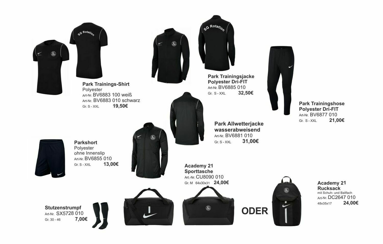 Nike großes Paket Erwachsene SG Rotation Prenzlauer Berg