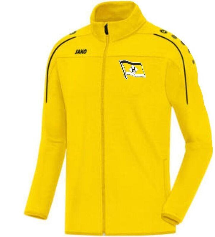 Jako Polyesterjacke gelb FSV Hansa 07