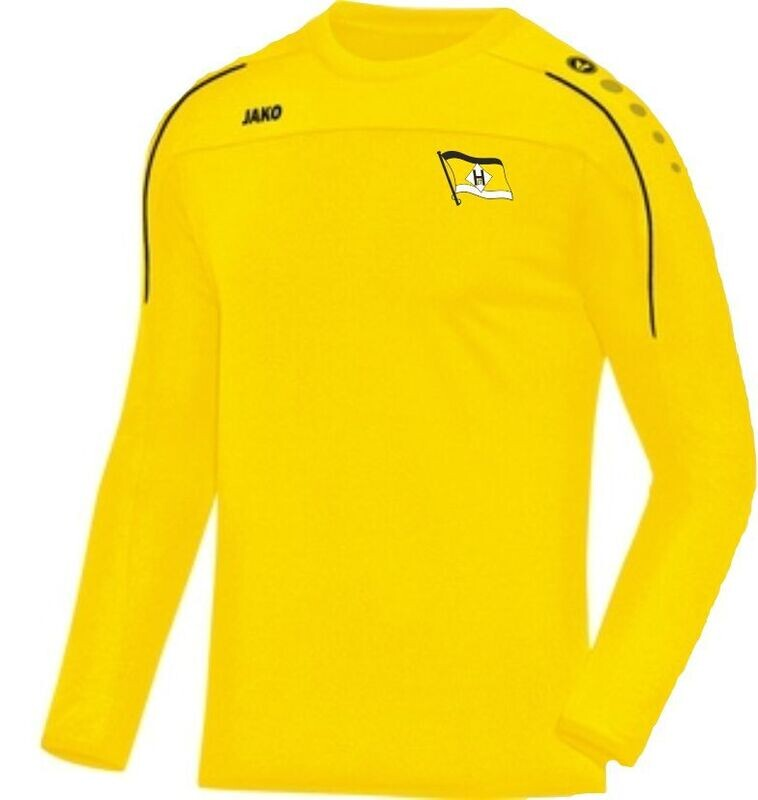 Jako Sweatshirt gelb FSV Hansa 07