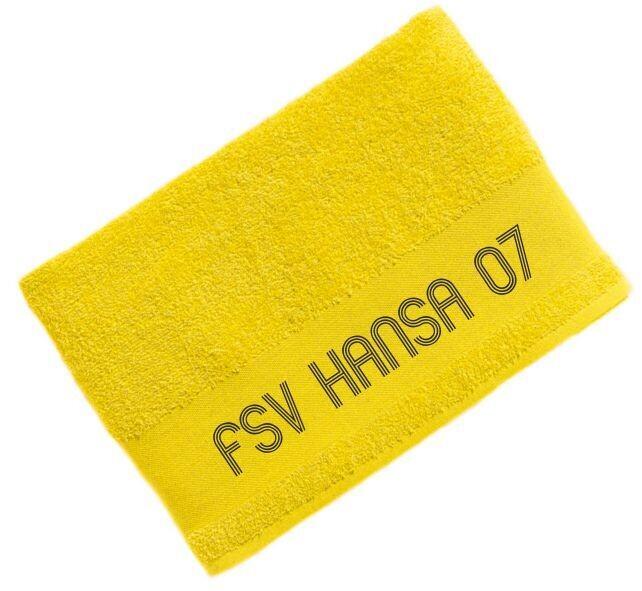 Jako Badetuch gelb FSV Hansa 07