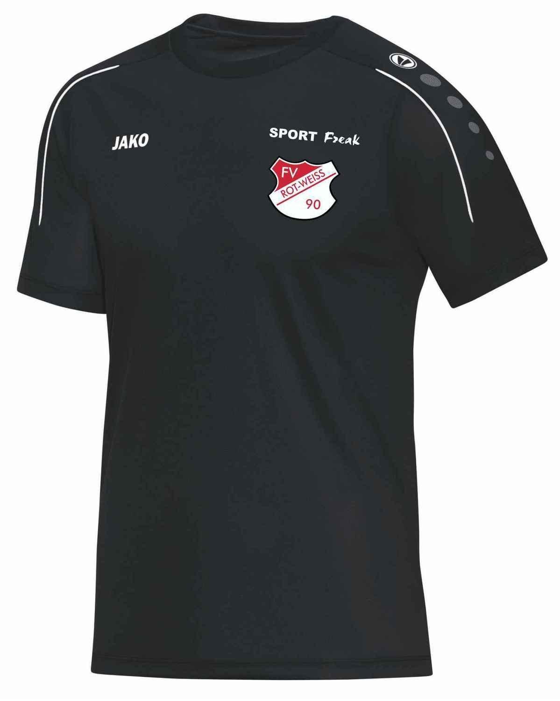 Jako T-Shirt Classico schwarz FV Rot Weiß Hellersdorf