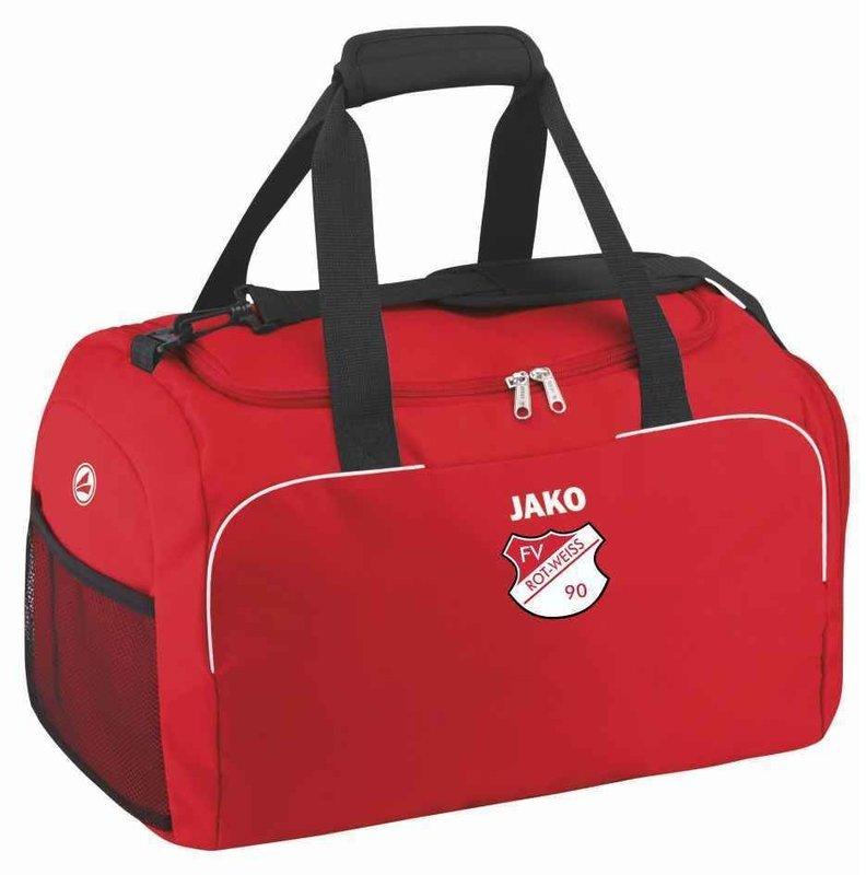 Jako Sporttasche mit seitlichen Nassfächern Classico FV Rot Weiß Hellersdorf