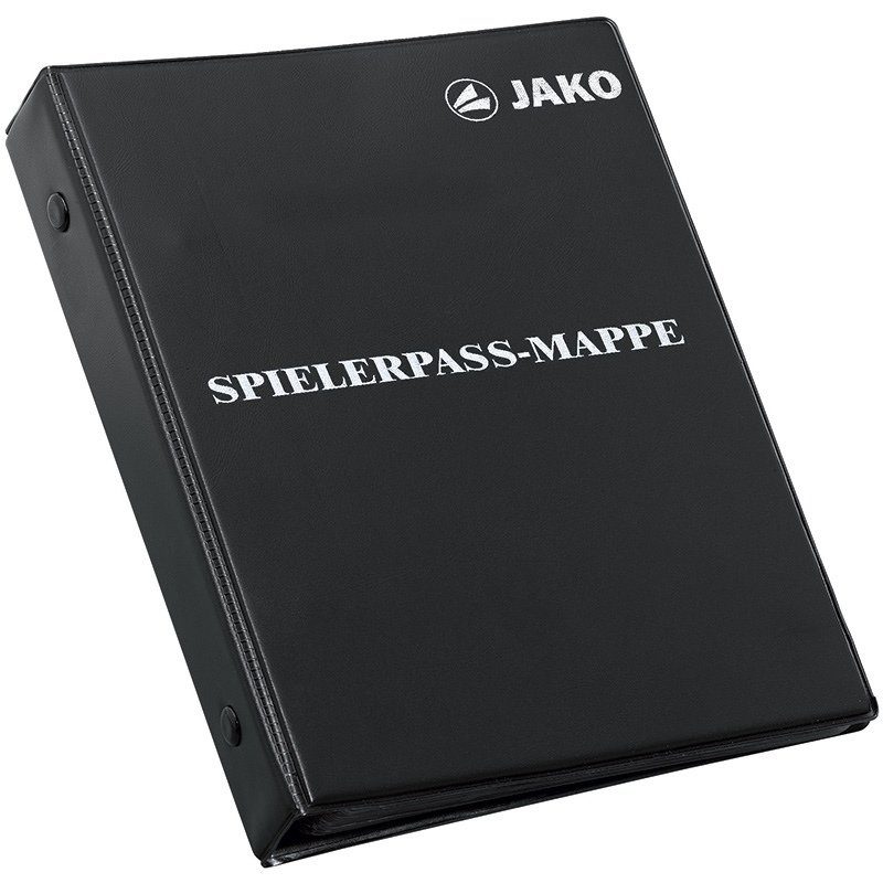 JAKO Spielerpass-Mappe schwarz