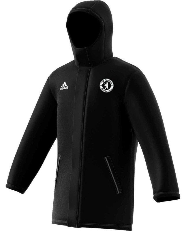 Adidas Kinder Coachjacke Core 18 VfB Fortuna Biesdorf