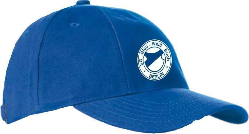 Basecap royalblau SG Blau Weiß Buch