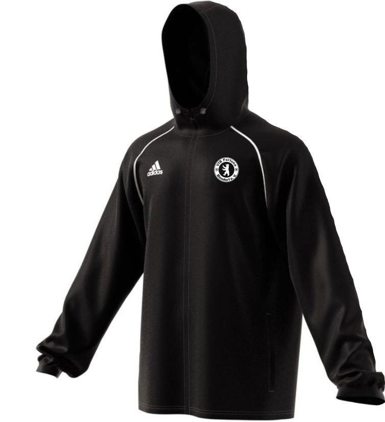 Adidas Erwachsenen Rain Jacket Core 18 VfB Fortuna Biesdorf