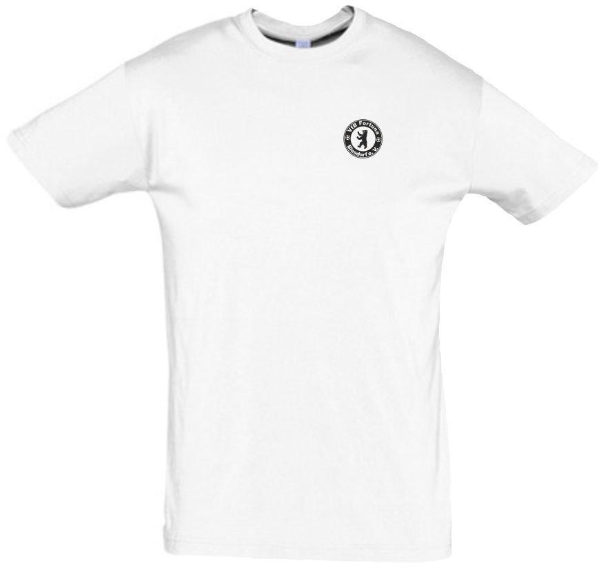 T-Shirt Baumwolle weiß VfB Fortuna Biesdorf