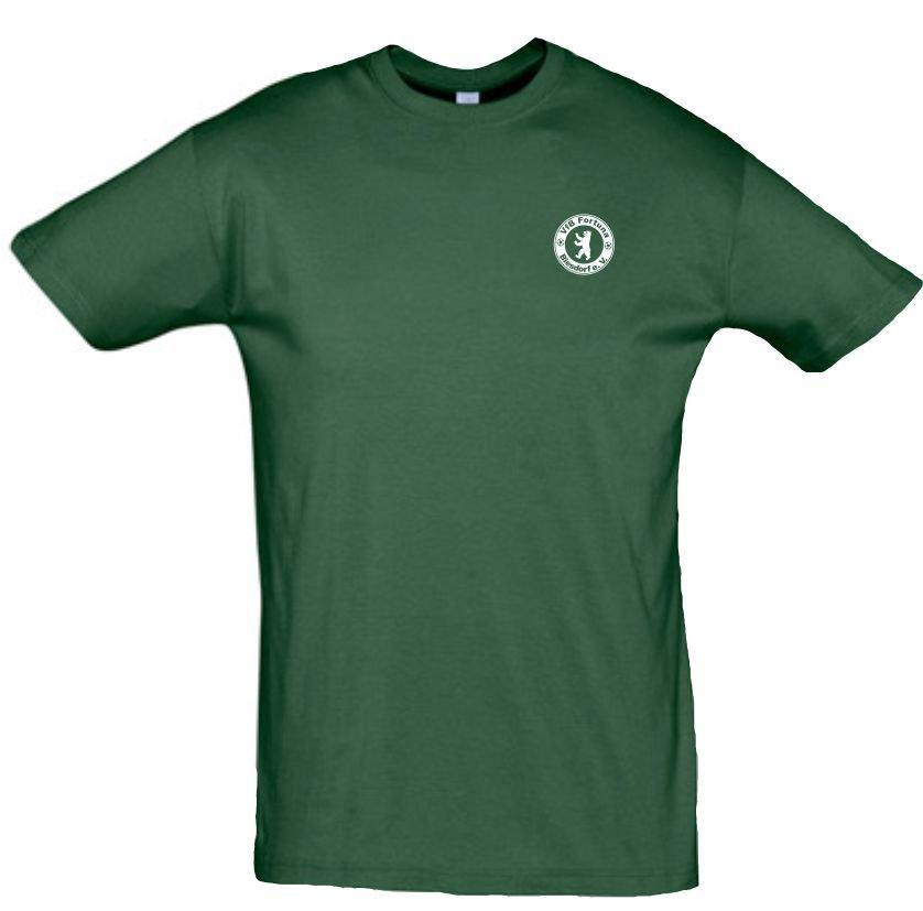 T-Shirt Baumwolle grün VfB Fortuna Biesdorf