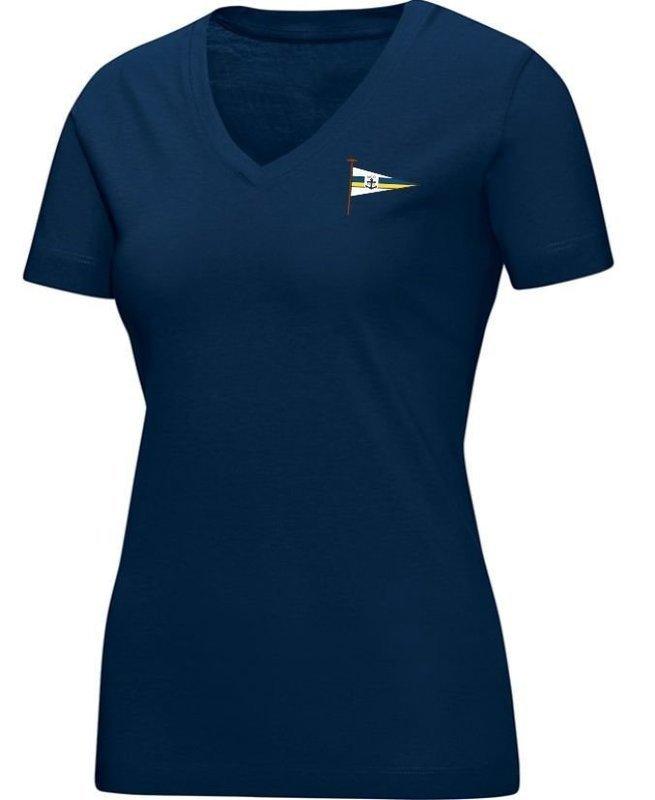 Jako T-Shirt marine Damen Motorwassersportclub Oberspree