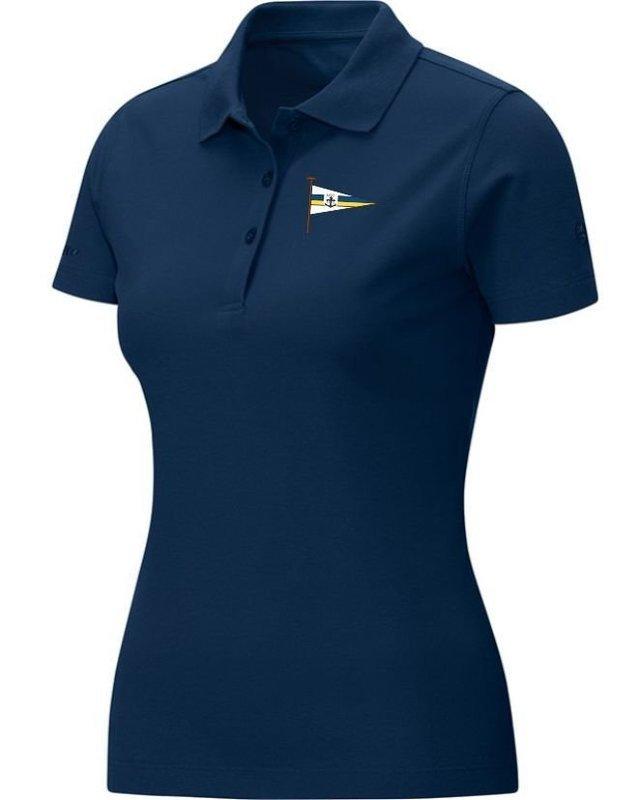 Jako Polo-Shirt marine Damen Motorwassersportclub Oberspree