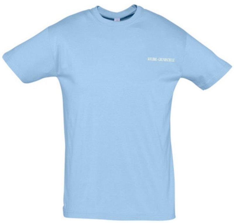 T-Shirt Baumwolle Kolibri Grundschule