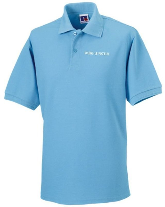 Polo Shirt Funktionsmaterial Kolibri Grundschule