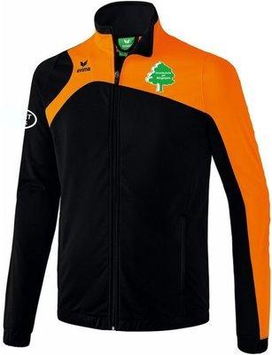 Erima Polyesterjacke Club 1900 2.0 schwarz orange Grundschule am Bürgerpark