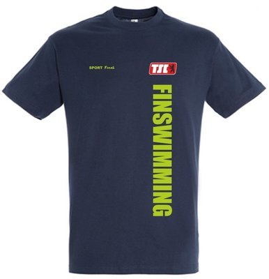 T-Shirt navy BTSC Finswimming