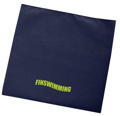 Microfaserhandtuch navy BTSC Finswimming