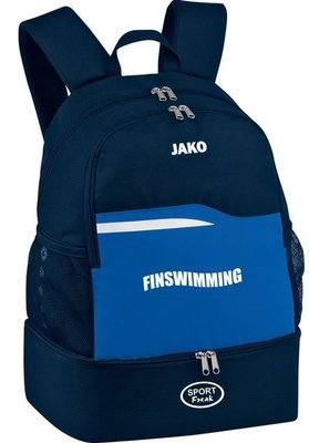 Jako Rucksack navy BTSC Finswimming