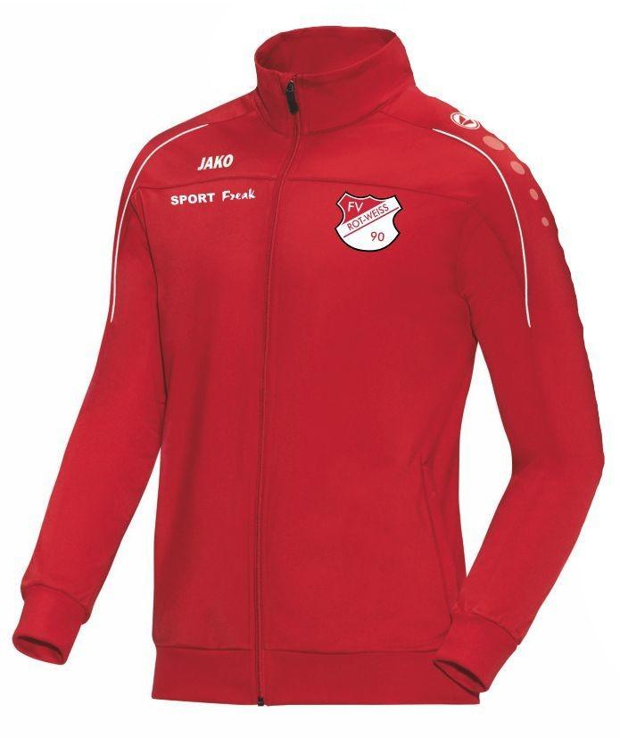 Jako Polyesterjacke Classico rot FV Rot Weiß Hellersdorf