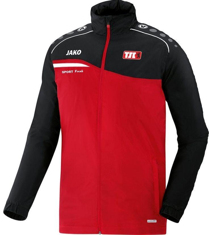 Jako Allwetterjacke Competition rot schwarz Berliner TSC
