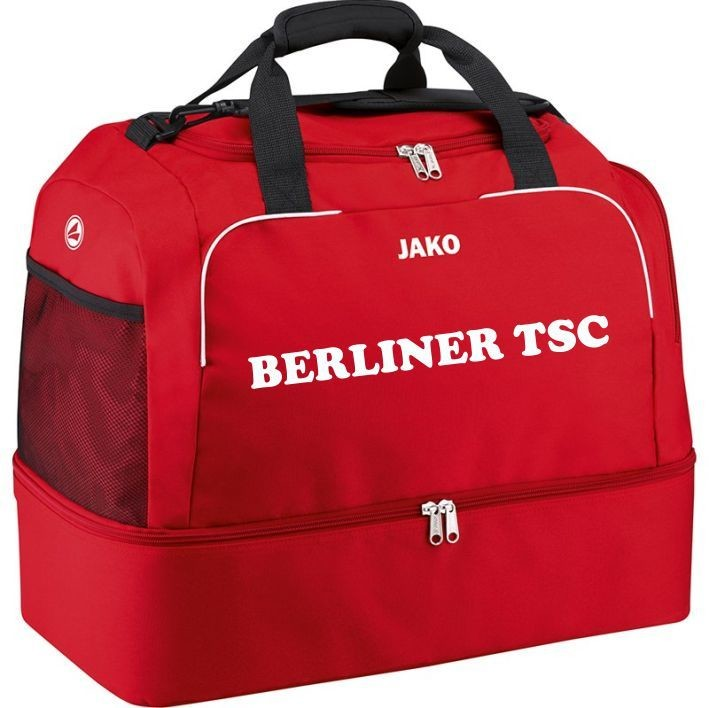 Jako Sporttasche mit Bodenfach Classico rot Berliner TSC