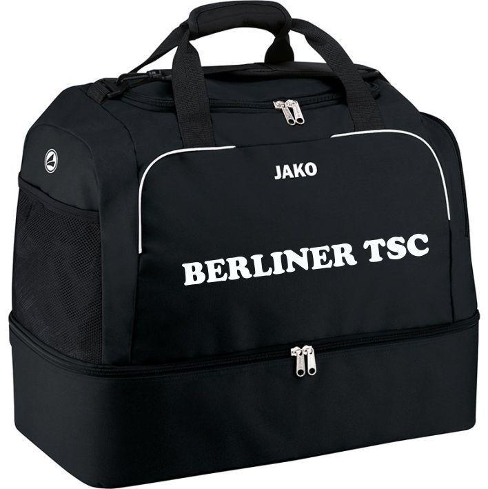 Jako Sporttasche mit Bodenfach Classico schwarz Berliner TSC