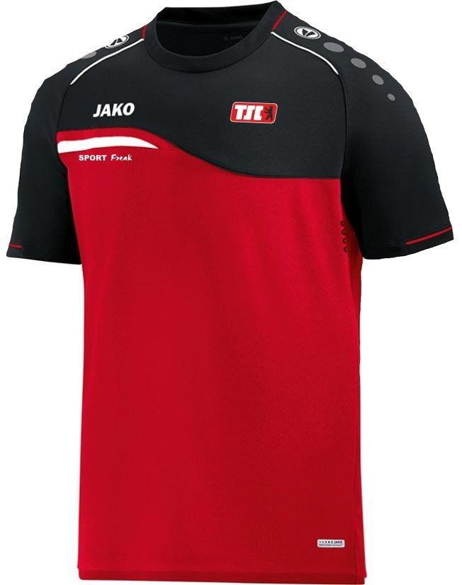 Jako T-Shirt Competition rot schwarz Berliner TSC
