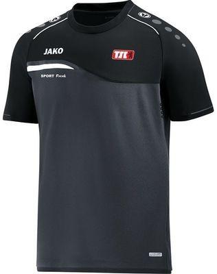 Jako T-Shirt Competition anthrazit schwarz Berliner TSC