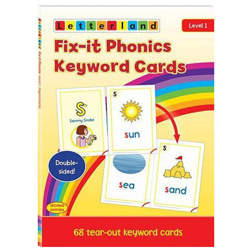 Fix-it Phonics - Level 1 - Keyword Cards (2nd Edition)
