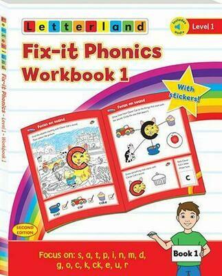 Fix-it Phonics Level 1 Workbook 1& 2 (2nd Edition) (рабочая тетрадь)