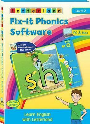 Компьютерная программа Fix-it Phonics Software Level 2  Volume  (6-8 лет)  - до 30 компьютеров