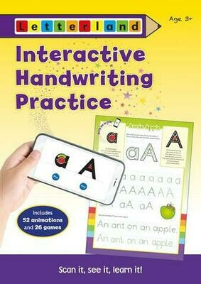 Рабочая тетрадь Interactive Handwriting Practice