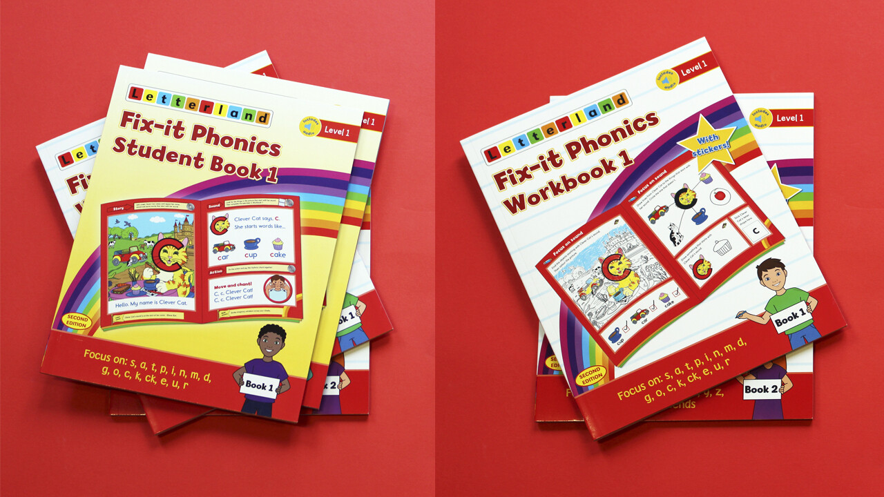 Fix-it Phonics - Level 1 - Student Pack (2nd Edition)