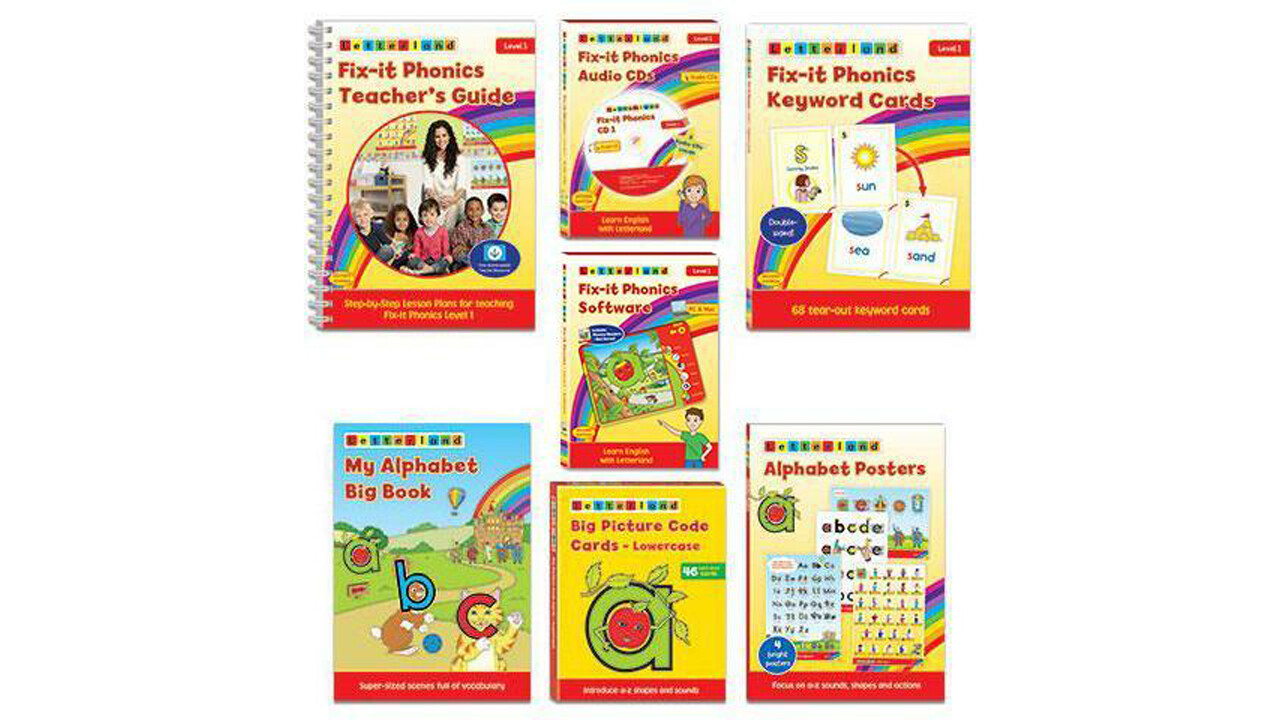 Комплект учителя Teacher's Pack Fix-it Phonics Level 1 (2d Edition)