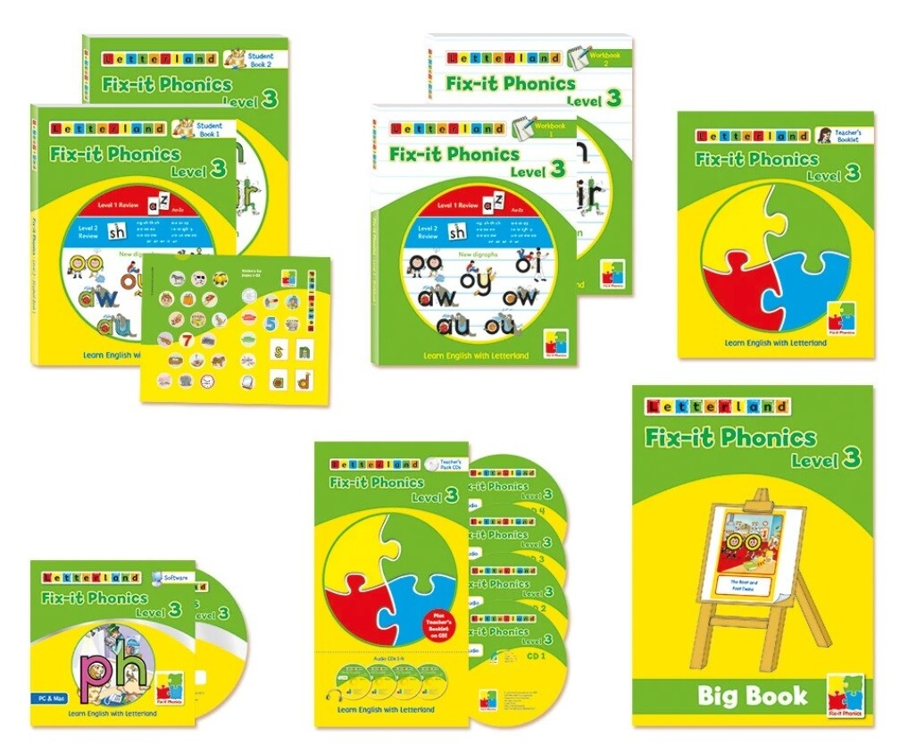 Комплект учителя Teacher's Pack Fix-it Phonics Level 3