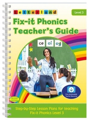 Fix-it Phonics - Level 3 - Teacher's Guide (2nd Edition)