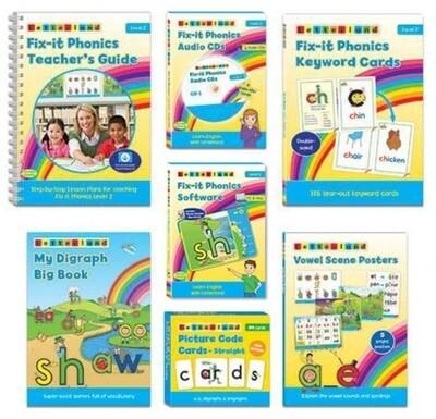 Комплект учителя Teacher's Pack Fix-it Phonics Level 2 (2d Edition)