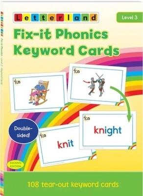 Fix-it Phonics - Level 3 - Keyword Cards (2nd Edition)