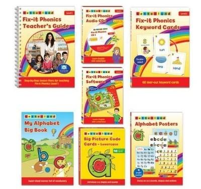 Комплект учителя Teacher's Pack Fix-it Phonics Level 1 (2d Edition)