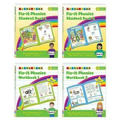 Fix-it Phonics - Level 3 - Student Pack (2nd Edition)