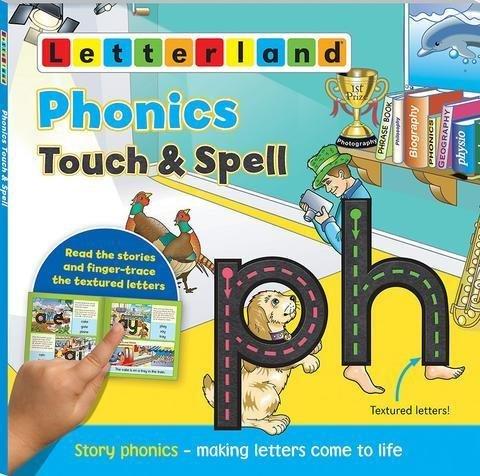 Phonics Touch & Spell - Мультисенсорная книжка буквосочетаний