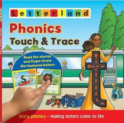 Phonics Touch & Trace- Мультисенсорная книжка про буквы