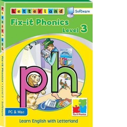 Компьютерная программа Fix-it Phonics Software Level 3 (7-10 лет)
