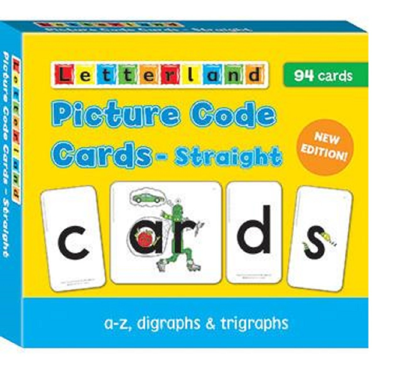 Picture Code Cards - Straight (Fix-it Phonics Level 1 & 2)