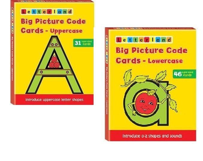 Специальное предложение - Big Picture Code Cards Lowercase & Uppercase
