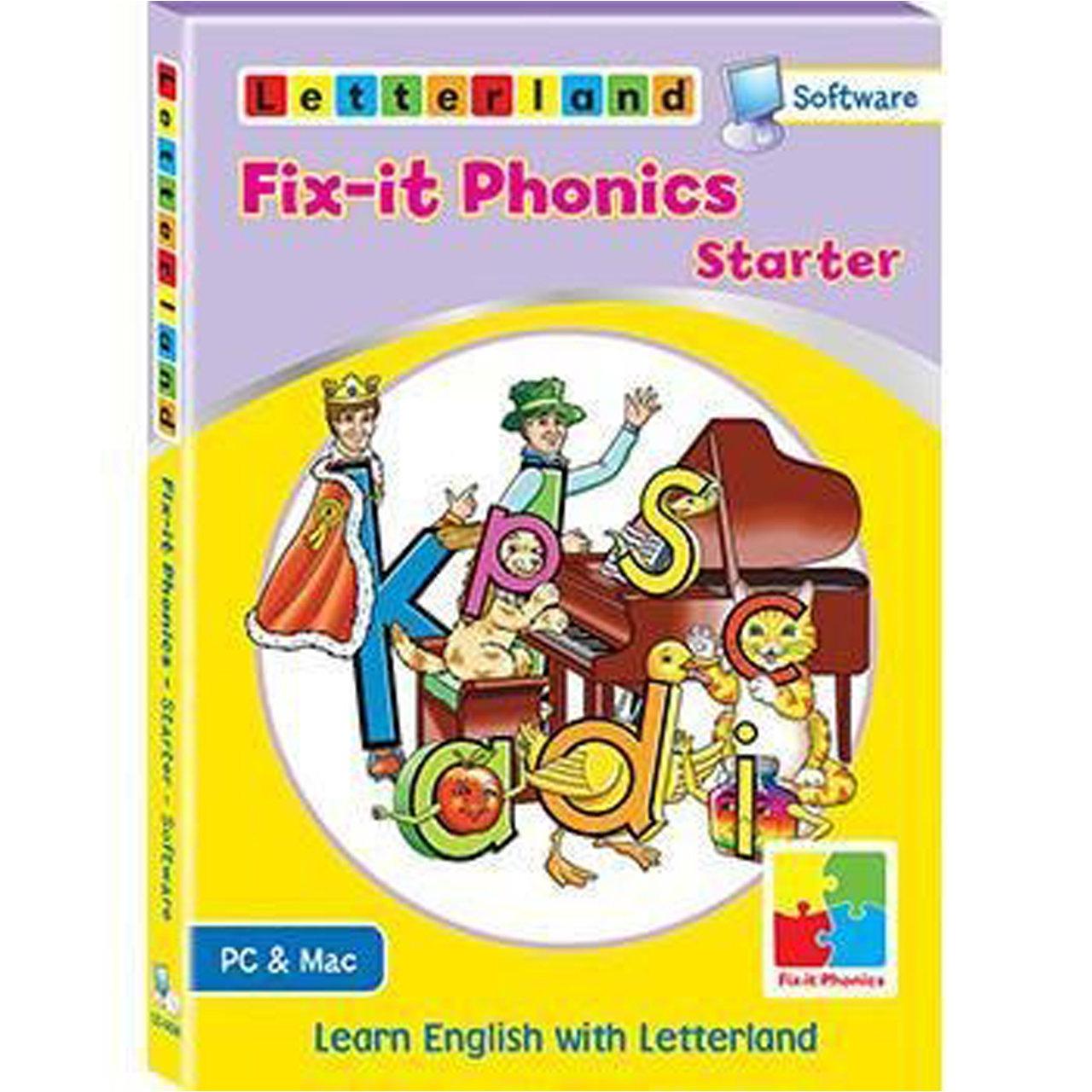 Компьютерная программа Fix-it Phonics Software Level Starter (3-5 лет)
