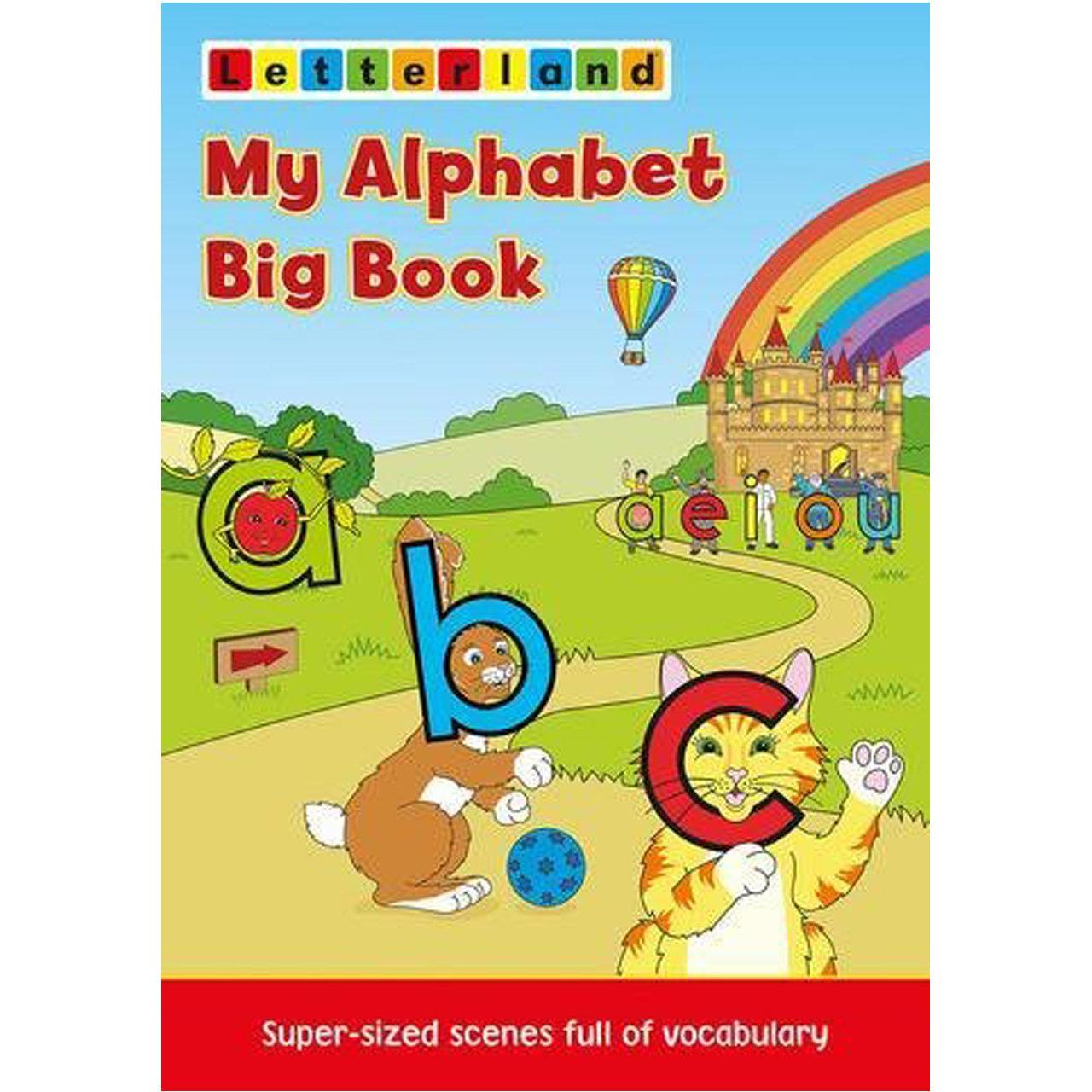 My Alphabet Big Book (Big Book Fix-it Phonics Level 1)