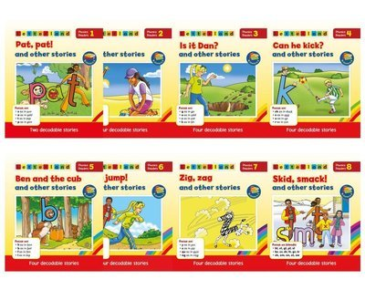 Phonics Readers - Red Series (8 книг/30 историй)