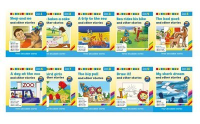 Phonics Readers - Blue Series (10 книг/32 истории)