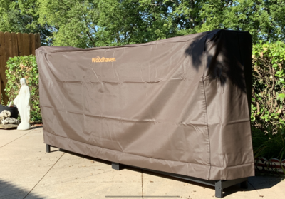 Full Cover for 1/2 Cord 8ft Brown