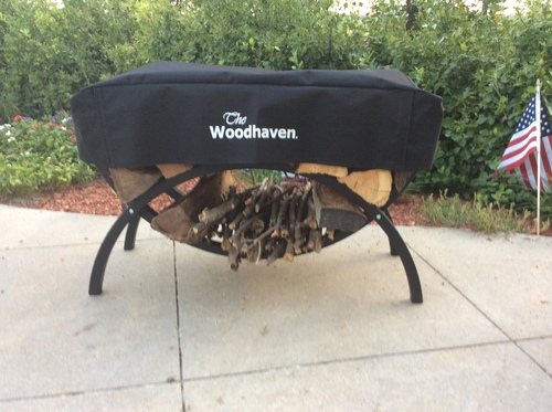 The Woodhaven 3ft Crescent Cover in Brown