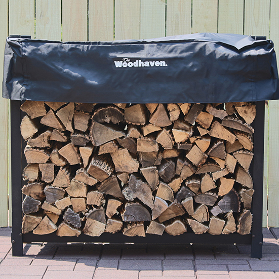 The Woodhaven 4ft Firewood Rack